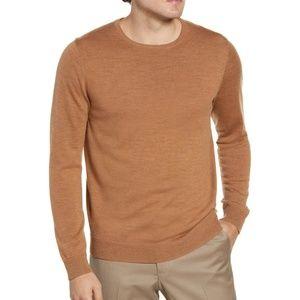 Nordstrom Mens Shop Crewneck Merino Wool Sweater